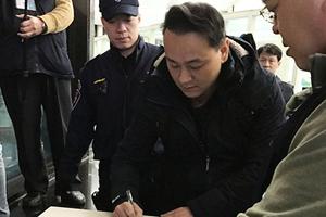 涉台大濺血案 統促黨員張安樂之子等五人被起訴