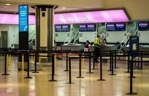 英國君主航空突然破產 11萬人滯留海外