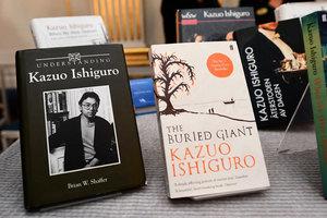 英國作家獲2017諾貝爾文學獎