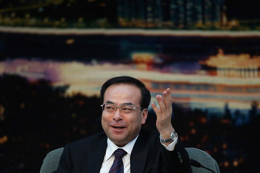 12月11日,中共前重慶市委書記孫政才以涉嫌「受賄罪」被宣佈立案偵查。(Feng Li/Getty Images)