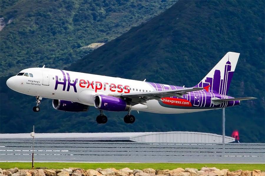 圖為香港快運航空一架A320客機。(香港快運航空)