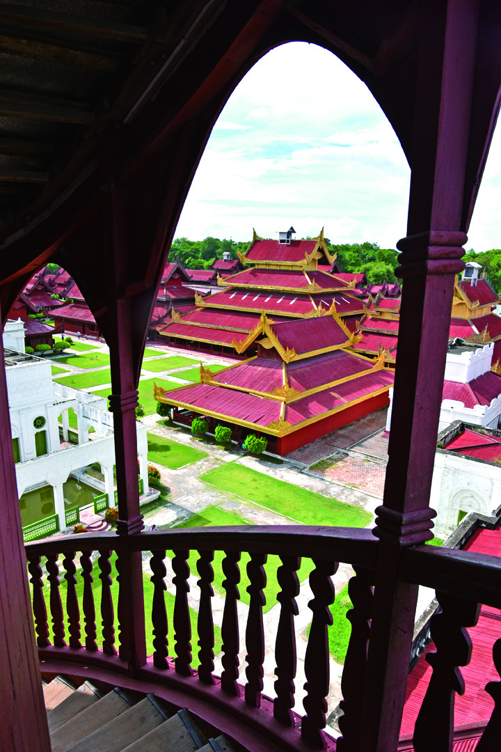 參照紫禁城建造的曼德勒宮。
