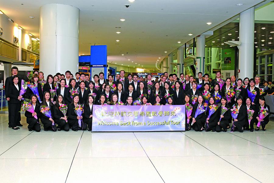 神韻交響樂團亞洲巡演圓滿落幕返美