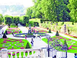 尋訪《仙樂飄飄處處聞》電影場景──米拉貝爾宮殿花園