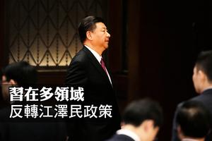 習在多領域反轉江澤民政策