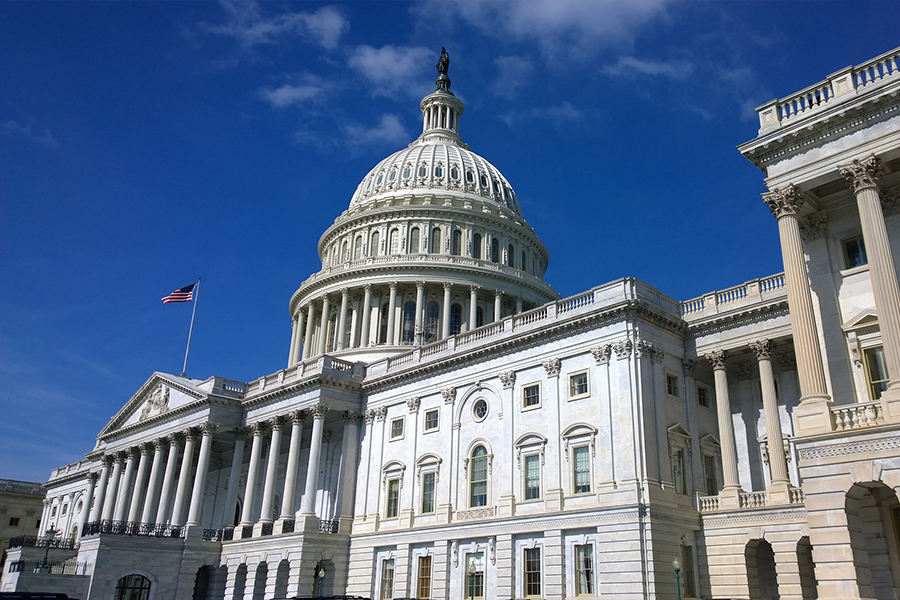 美國國會大廈。(Pixabay)