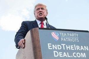 特朗普預計將取消伊朗核協議 推對抗性戰略