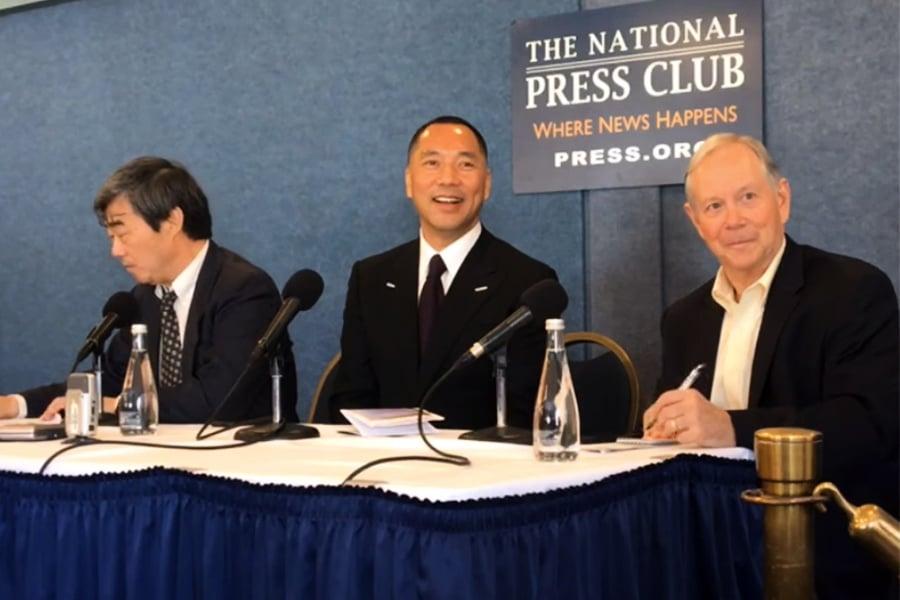 直播專訪郭文貴 美國之音三記者被解僱