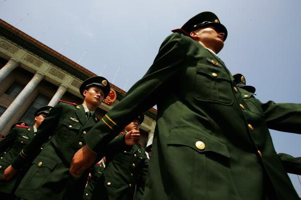 中共高層內鬥激烈。(Getty Images)