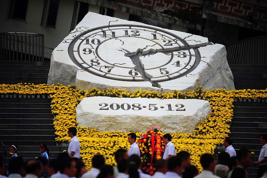 日前,西藏自治區「戎裝常委」到位,其在2008年四川汶川大地震中的經歷,令當年四川汶川大地震後,中共高層內鬥的內幕再被關注。(Getty Images)