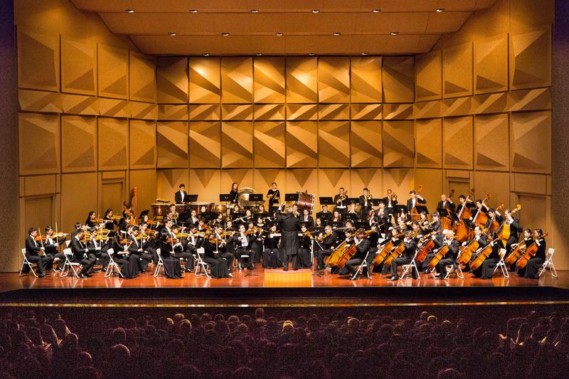 2017年9月30日晚上,神韻交響樂團於台灣彰化市員林演藝廳演出。(陳霆/大紀元)
