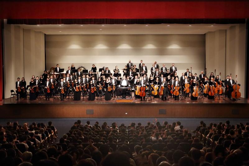 2017年9月20日晚上,神韻交響樂團於桃園中壢藝術館舉行了在台灣第一場的巡迴演出。(林仕傑/大紀元)
