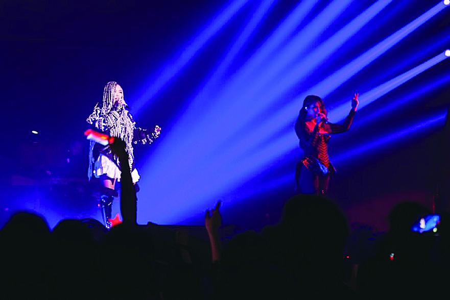 張惠妹於紅館舉行一連兩晚的巡唱。(網絡圖片)