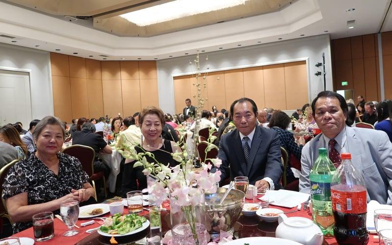 參與新唐人、大紀元17周年慶晚宴的嘉賓。(徐綉惠/大紀元)