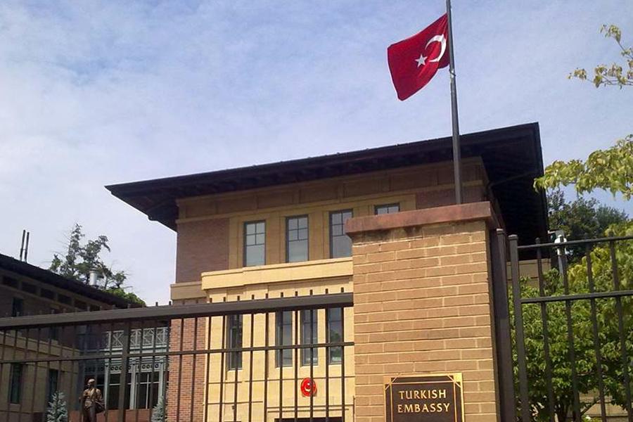 美國駐土耳其大使館8日發表聲明說,美國暫停辦理土耳其的所有非移民簽證申請。土耳其隨後也宣佈暫時停辦美國的所有非移民簽證申請。(維基百科公有領域)