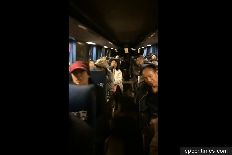 十九大前夕 北京警察夜間突擊大肆抓捕訪民