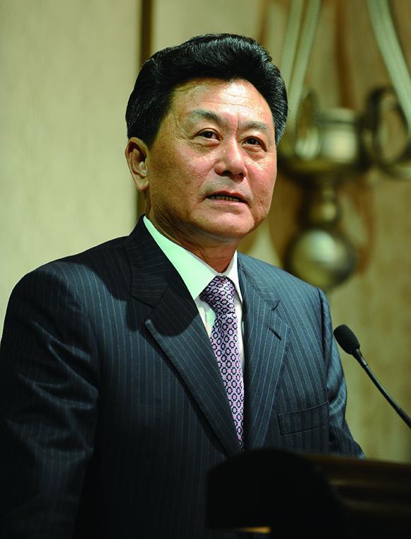 中聯辦前副主任、國務院僑務辦公室副主任李剛。(AFP)