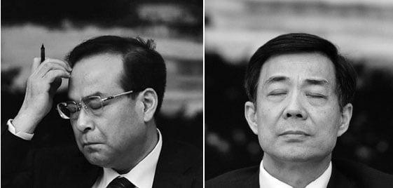 辛子陵揭密,前重慶市委書記孫政才(左)是江派第二個政變班長,前一個班長是薄熙來(右)。(Getty Images)