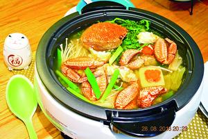 【梁廚美食】北海道毛蟹鍋