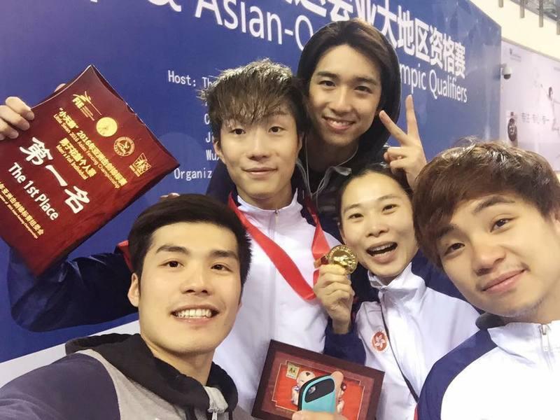 張家朗奪亞洲賽男子花劍金牌