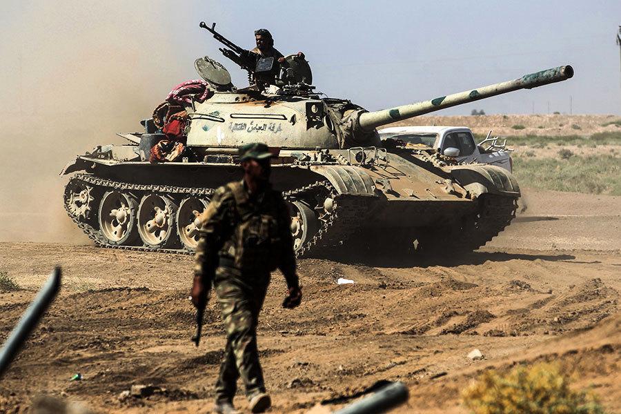 IS潰敗速度加快 不再拚死作戰而選擇投降