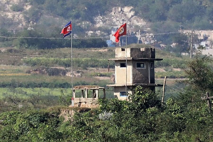 韓媒:特朗普或親往三八線視察 震懾北韓