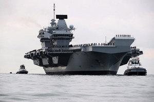 英媒:英軍準備對北韓作戰 或派航母遠征