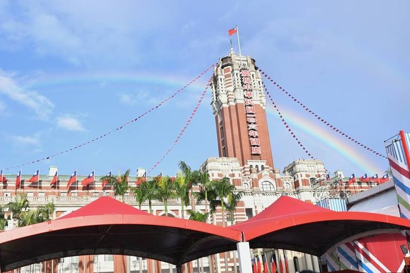 國慶演說全文 蔡英文:台灣因為民主而偉大