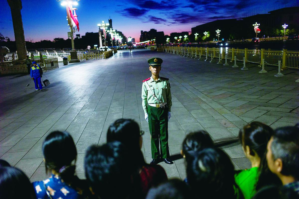 中國的武裝力量,是中共的軍隊、中共的黨衛軍,因為他們要對中共效忠,中共中央軍委主席是軍隊的最高指揮官。 (Getty Images)