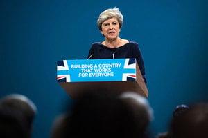 若再公投是否挺脫歐 英相文翠珊避而不答