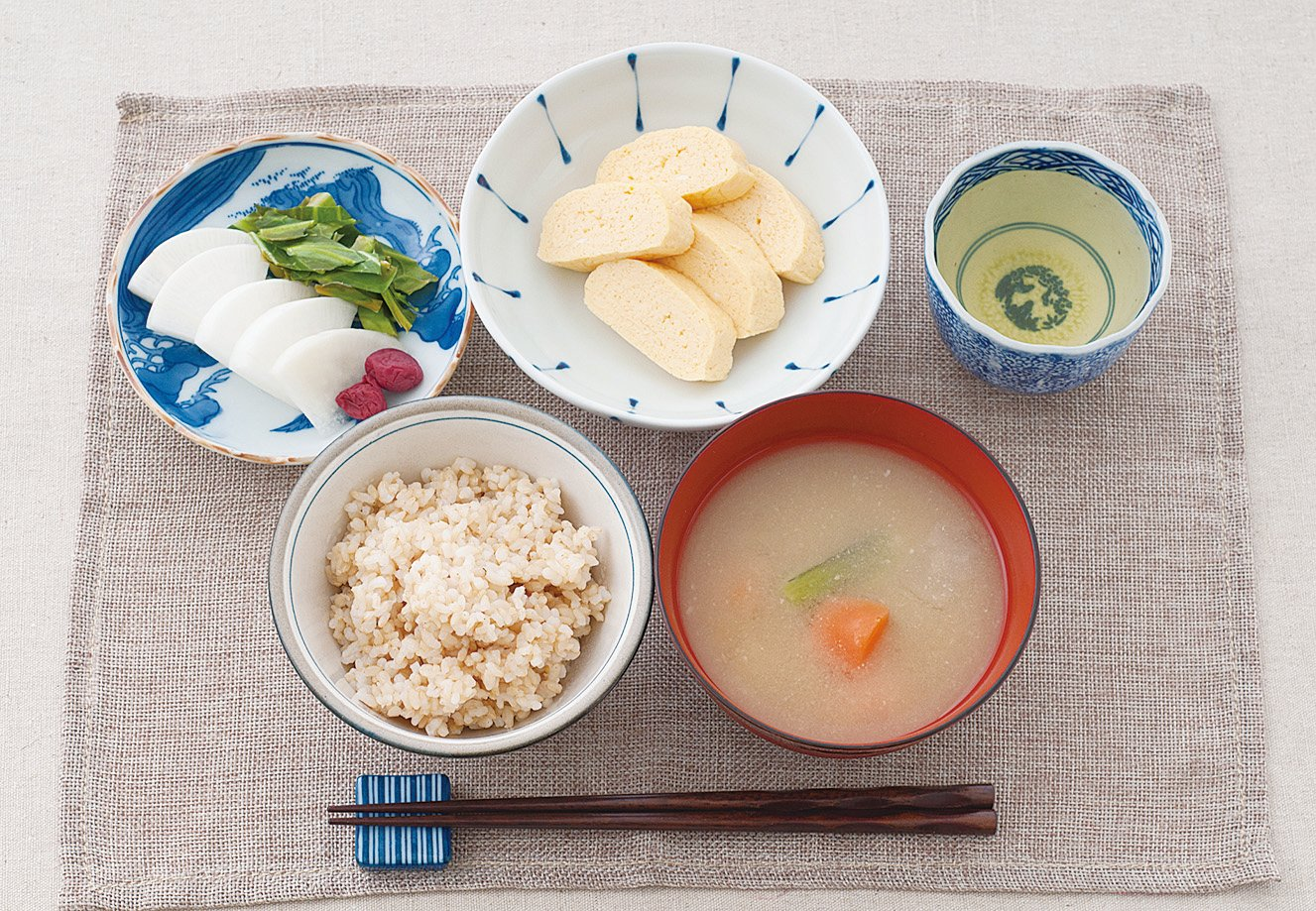 日式健康料理。
