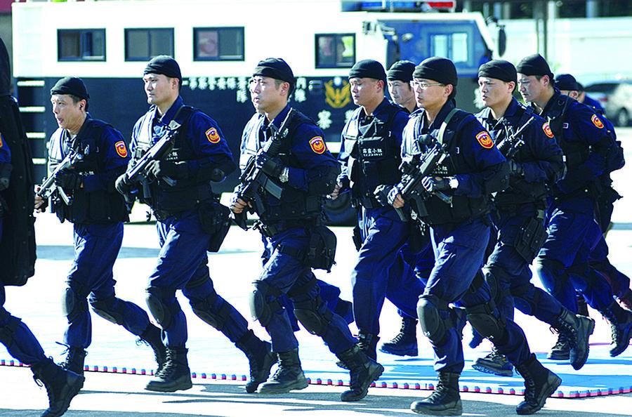 台灣掃蕩犯罪幫派份子除惡務盡