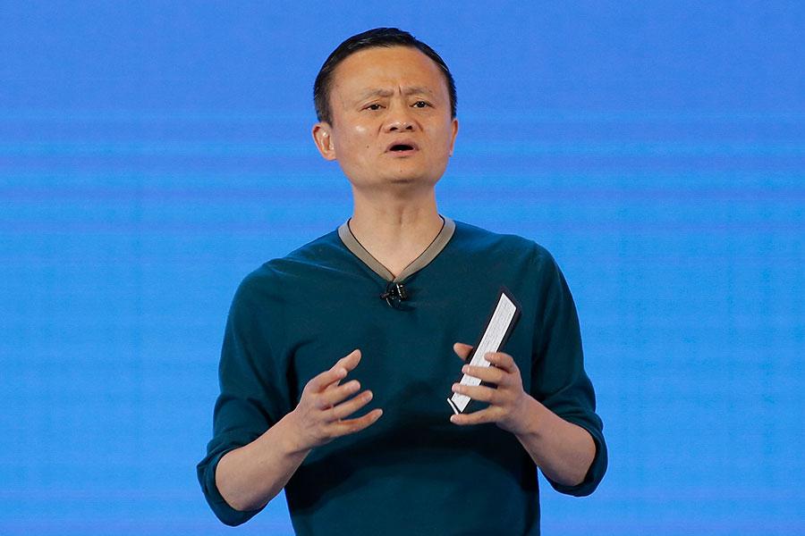 阿里巴巴主席馬雲。(Lintao Zhang/Getty Images)