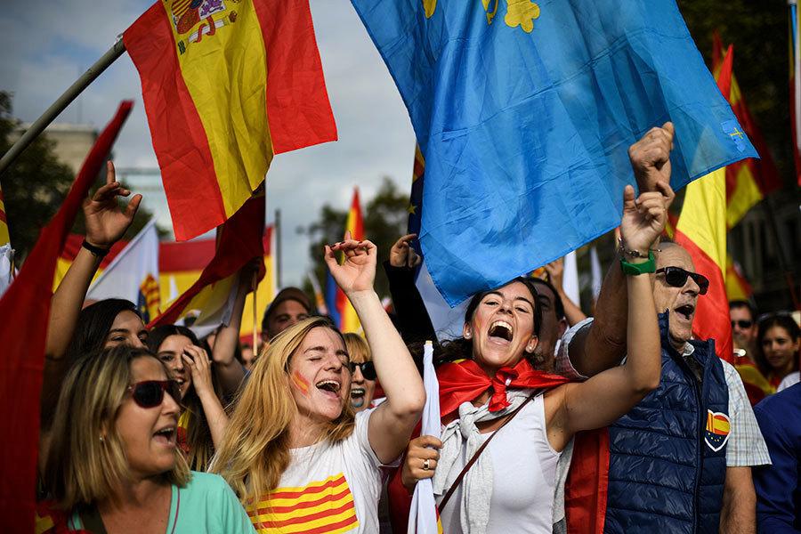 加泰羅尼亞危機不影響 西班牙歡慶國慶