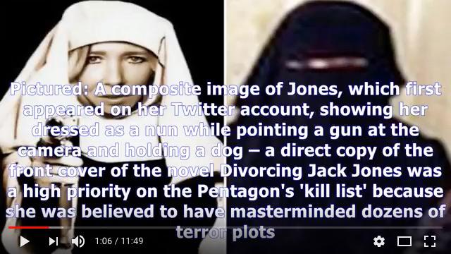 英女歌手成IS恐怖白寡婦 被美軍空襲擊斃