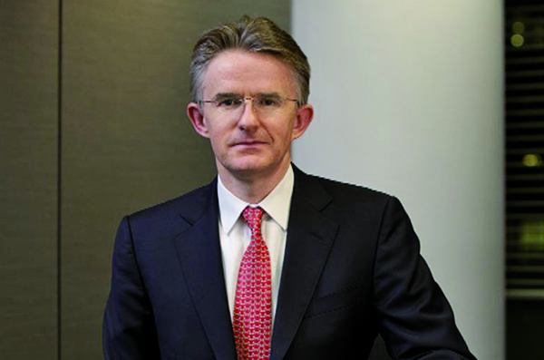 滙控(00005)宣布范寧(John Flint)接替明年退休的歐智華,出任執行董事及集團行政總裁,並將於明年2月21日生效。(網絡圖片)