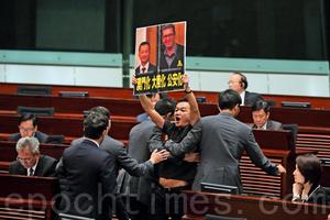 英人權領袖被拒入境香港 議員疑中共干預促林鄭交代
