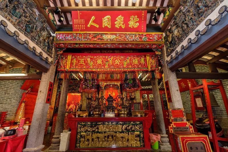 三建築列為法定古蹟 楊侯古廟歷史可追溯至清朝