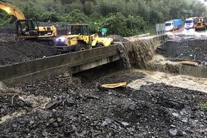 卡努颱風共伴效應 致災性豪雨襲擊台灣東部