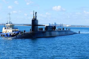 美核潛艇抵韓 列根號航母下周加入美韓軍演