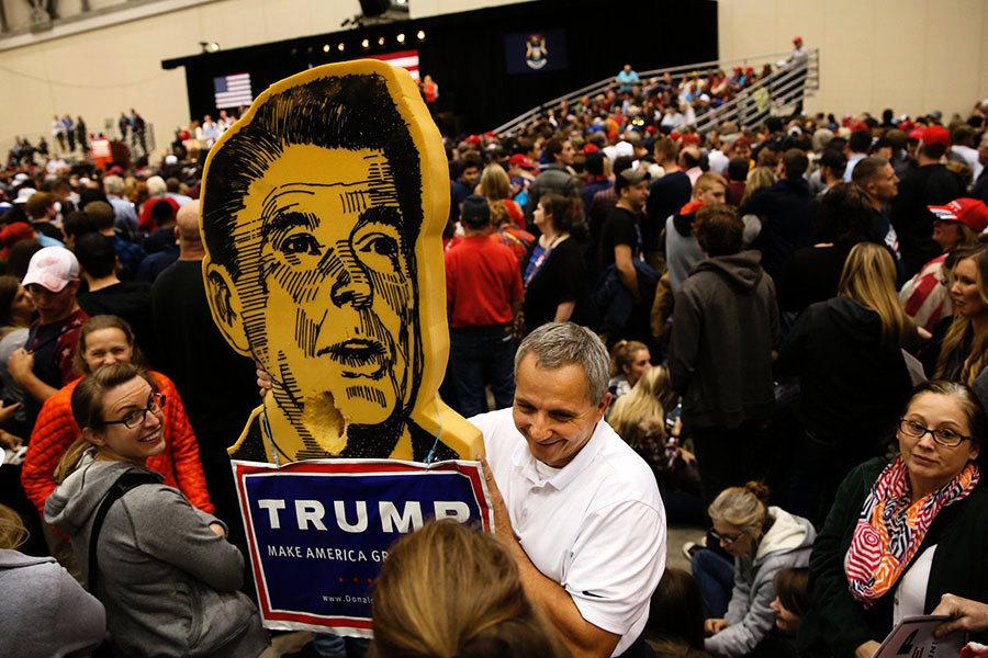 前美部長:列根總統是燈塔 特朗普總統是希望