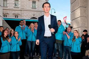 奧地利總理熱門人選 對難民立場強硬