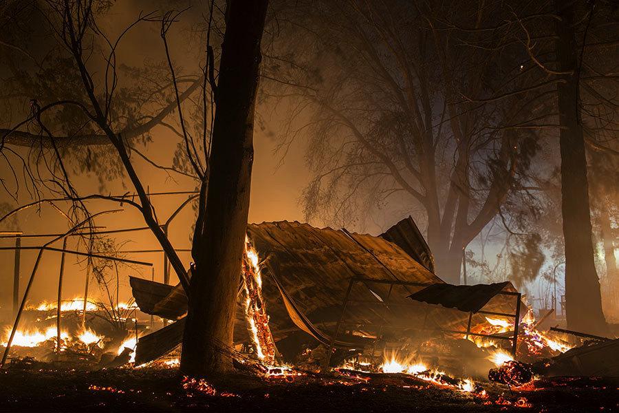 加州再強撤數千人 預測強風又起恐加大火勢