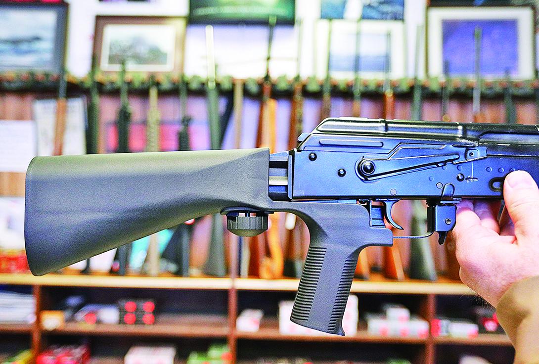 賭城槍擊案後,是否禁用「撞火槍托」成為輿論關注焦點。(Getty Images)