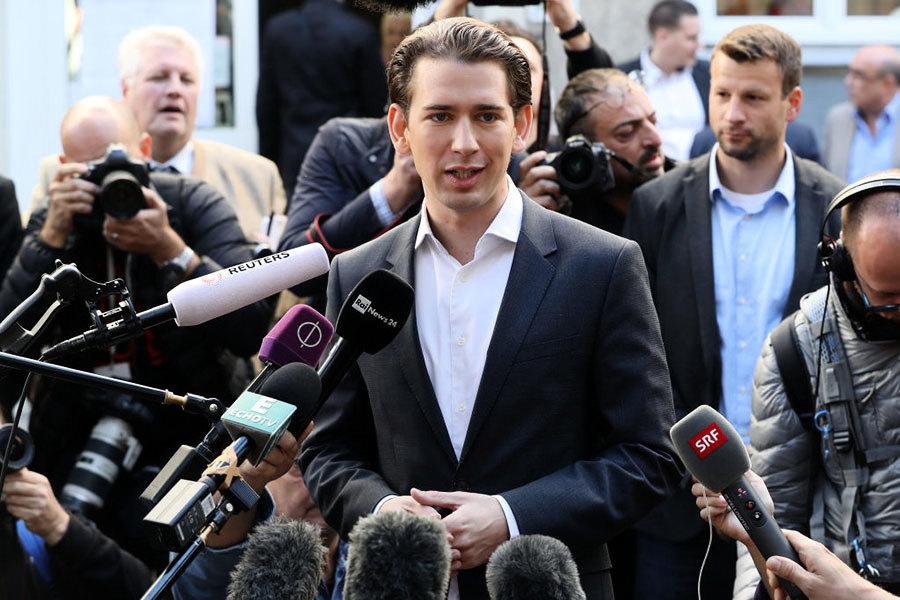 奧地利大選結束 有望產生歐洲最年輕總理