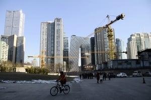 大陸十月新房價格環比 一線城市下降