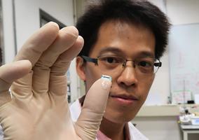 中大研生物相容水凝膠修復關節缺損