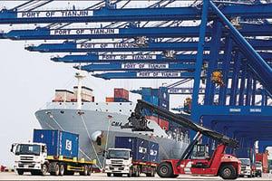 大陸出口連3個月低於預期 拉動經濟作用減弱
