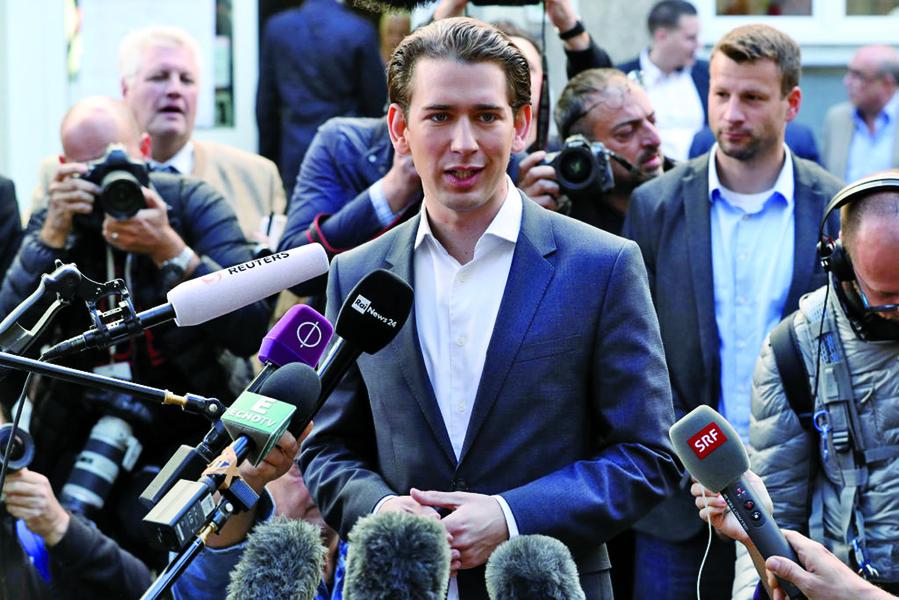 奧地利產生歐洲最年輕總理