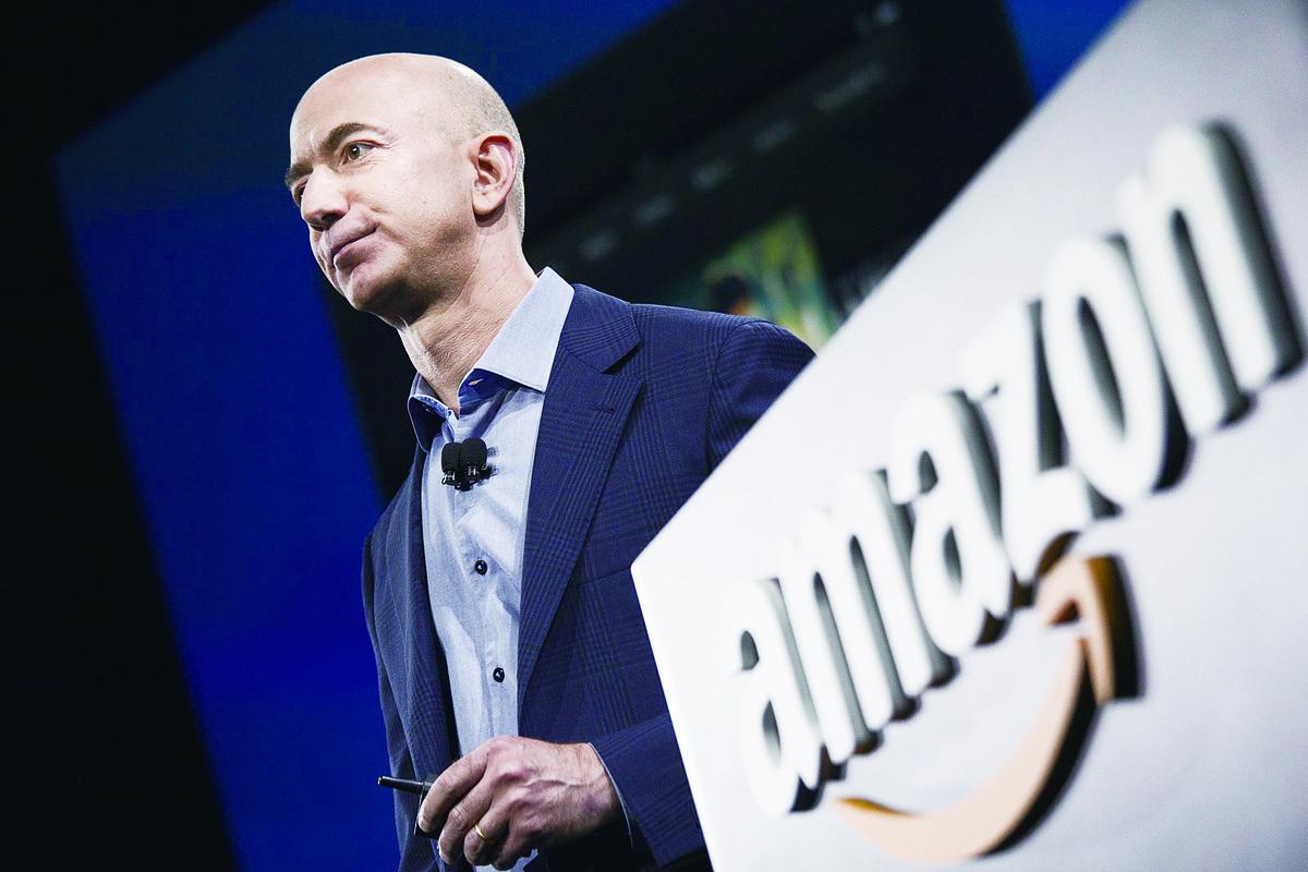 亞馬遜公司的創辦人兼總裁Jeff Bezos。(Getty Images)